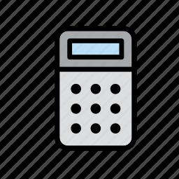 calculator, math, maths, school, science icon