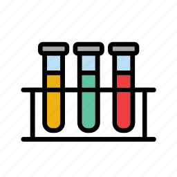 glass, rack, science, test, test-tube, tube, vial icon