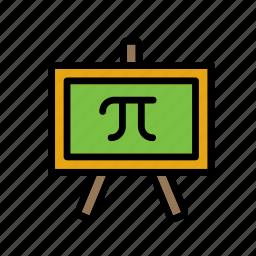 blackboard, chalkboard, education, greenboard, school, science, whiteboard icon