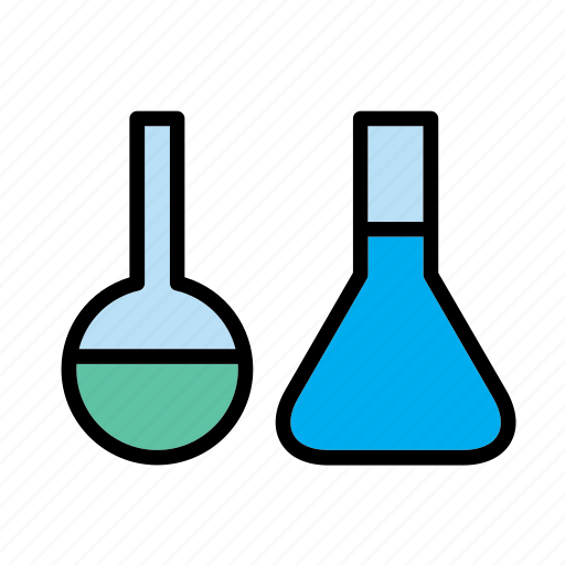 bottle, chemical, chemistry, equipment, glass, laboratory, science icon