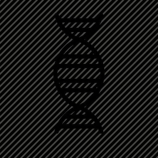 atom, dna, genetics, medicine, molecular, molecule, science icon