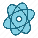 atom, chemistry, lab, laboratory, research, science icon