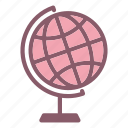 earth, globe, laboratory, research, science icon