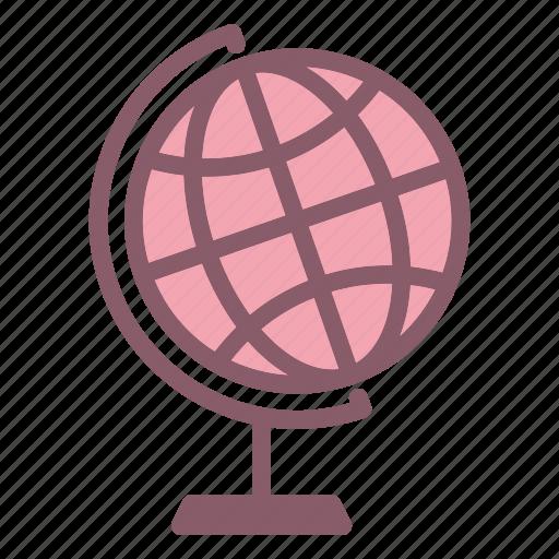 earth, globe, laboratory, research, science icon