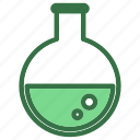 chemistry, flasks, lab, laboratory, research, science icon