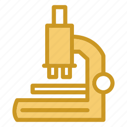 chemistry, lab, laboratory, microscope, research, science icon