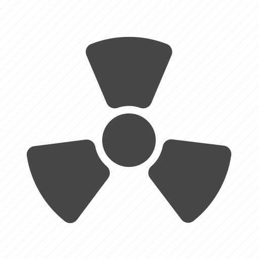chemical, radiation, science icon