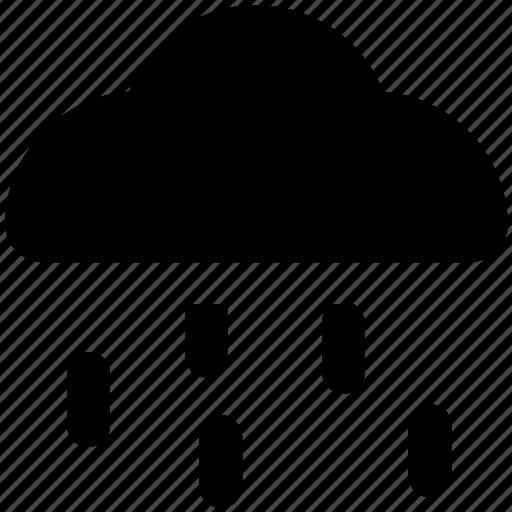 climate, cloud, rain storm, raining, rainy weather, weather icon