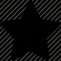 bookmark star, favourite, like, ranking star, star, star shape icon