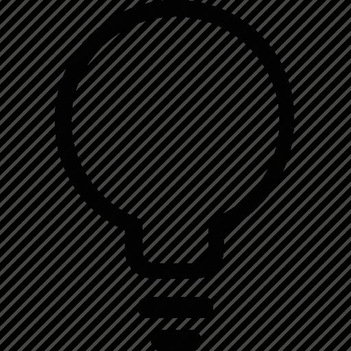 buld, electricity, energy, idea, light, science icon