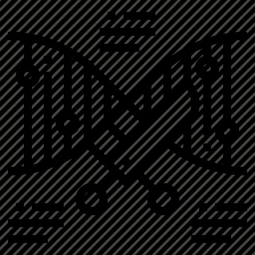 dna, genetic, gmo, modification icon