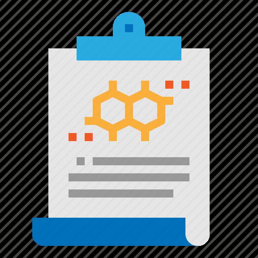 clipboard, data, information, report icon