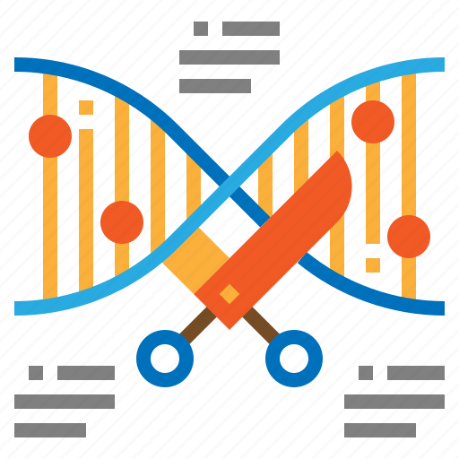 dna, genetic, gmo, modification icon