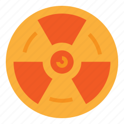 chemistry, nuclear, radiation, science icon