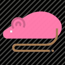 experiment, laboratory, mouse, rat icon