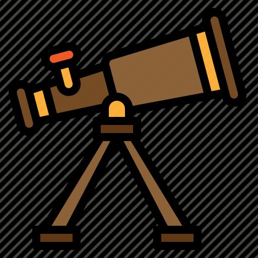astro, astrology, astronomy, telescope icon