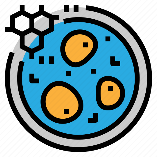 biology, cell, research, science icon