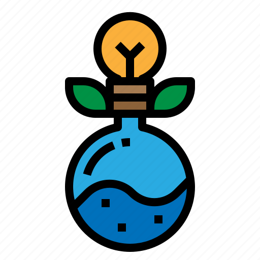 discovery, idea, physics, science icon