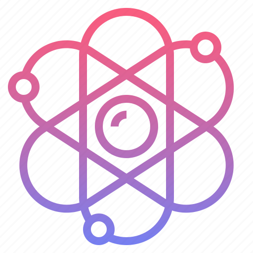 atom, biology, genetic, science icon
