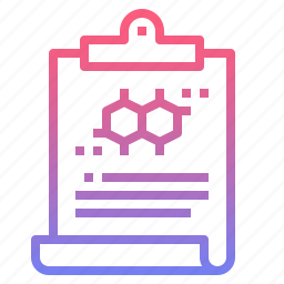 clipboard, data, information, report icon