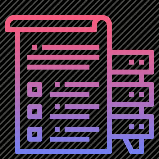 data, info, information, report icon