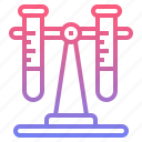chemistry, flasks, test, tube icon