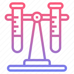 chemistry, flasks, test, tube icon