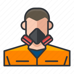 avatar, chemistry, hazard, lab, science, team icon