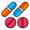 chemistry, medication, medicine, pill, pills, science icon