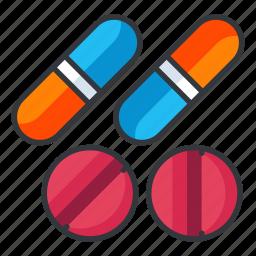 chemistry, medication, medicine, pill, pills, science icon
