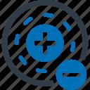 atom, science, experiment icon