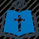 bible, christ, cross, religion, church icon
