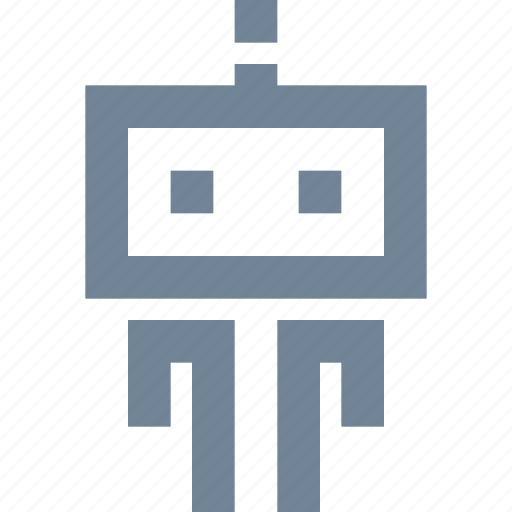 artifitial, high tech, humanoid, intelect, robot, science, technology icon