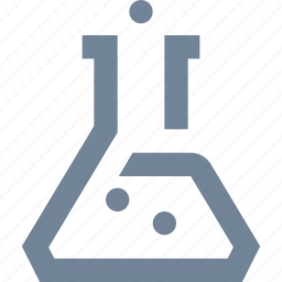 chimistry, education, experiment, laboratory, physics, school, science, tube icon