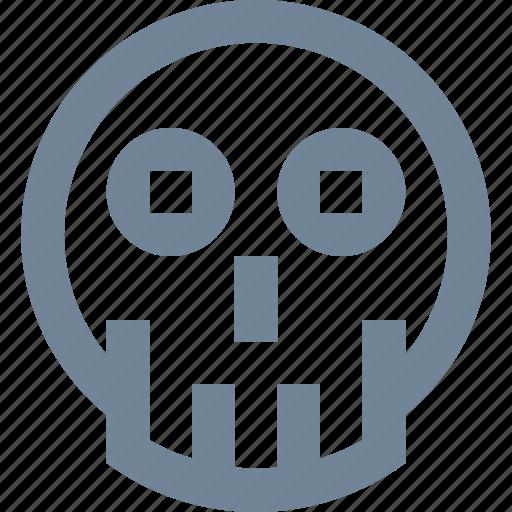 danger, death, health care, medical, poison, science, skeleton, skull icon