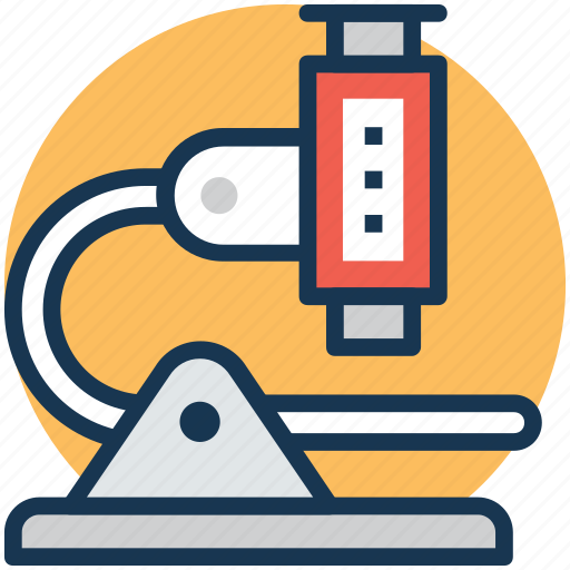 chemistry, laboratory, microbiology, microscope, research icon