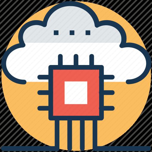cloud based services, cloud database, cloud networking, cloud server, cloud software icon