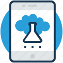 lab app, mobile app store, online laboratory, smart lab, smartphone application icon