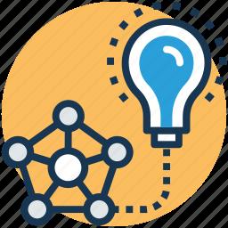 artificial intelligence, creativity, deep learning, intelligence, machine learning icon