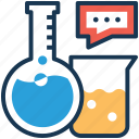 chemical equipment, chemistry lab, chemistry laboratory, lab equipment, science lab icon