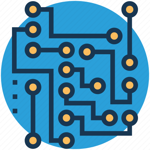 biophysics, circuitry, electronics, physical science, science icon