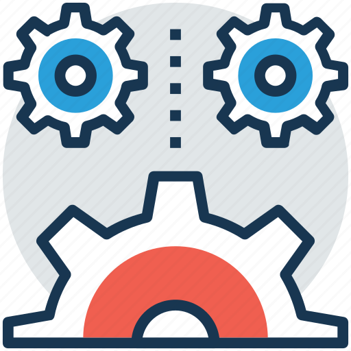 applied science, engineering, engineering science, mechanization, technology icon
