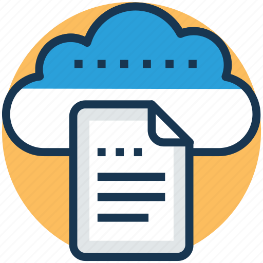 cloud reporting, digital storage, file storage, online docs, sky docs icon