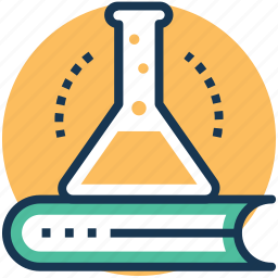 science and education, science book, science informations, science knowledge, scientific research icon