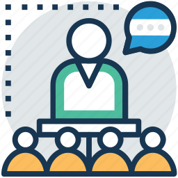 conference, council, discussion, group discussion, meeting icon