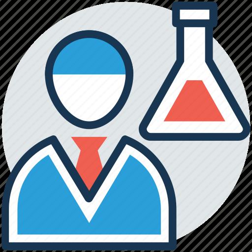 lab assistant, lab attendant, lab monitor, laboratory attendant, medical staff icon