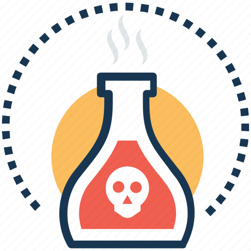 acid, danger, poison, poison bottle, toxin icon