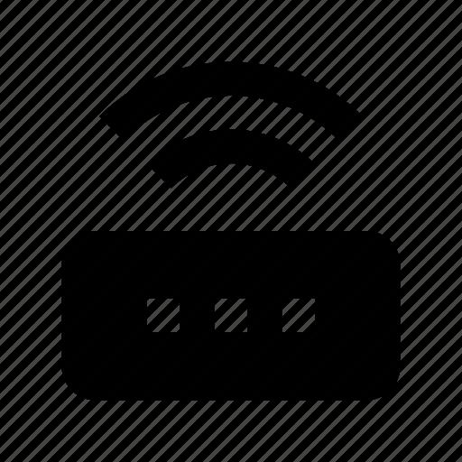 broadband modem, internet device, wifi modem, wifi router, wireless modem icon