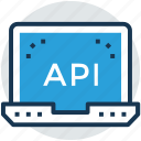 api, computer graphics, modeling application, modeling tool, programming interface icon