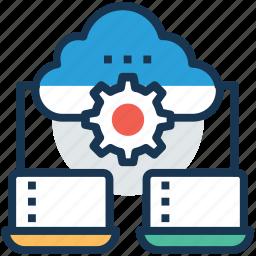 cloud backup, cloud server, cloud server hosting, cloud storage, software hosting icon